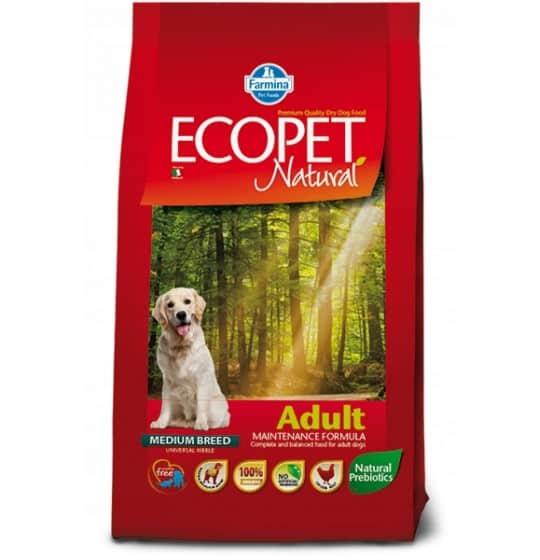 ADULT MEDIUM ECOPET 2,5 kg...