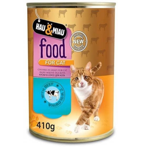 Hau& Miau Food Mokra Karma...