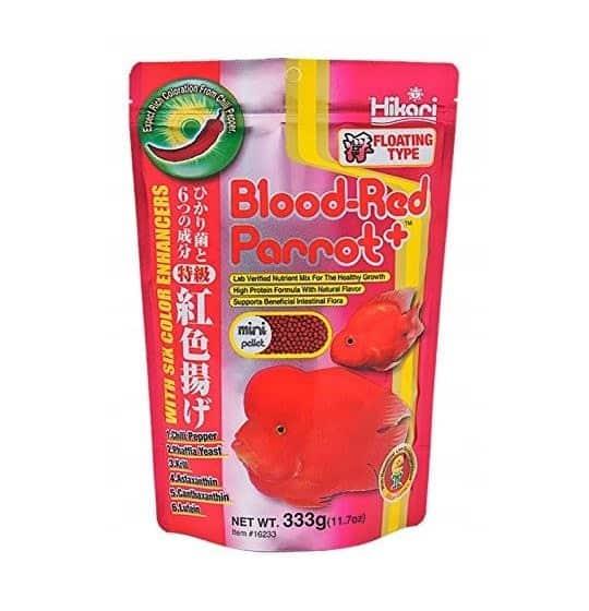 HIKARI BLOOD-RED PARROT...
