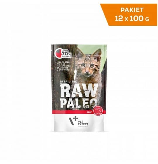 RAW PALEO Sterilised dla...