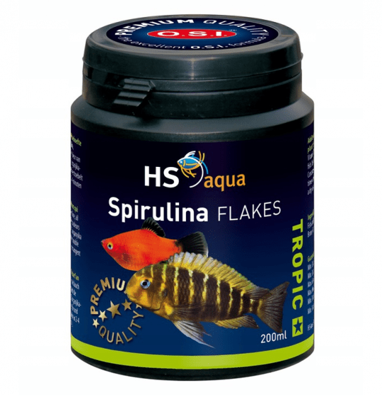O.S.I Spirulina flakes 200 ml