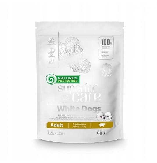 NP WHITE DOGS ADULT SMALL...