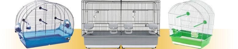 Klatki dla ptaków takich jak papugi czy kanarki