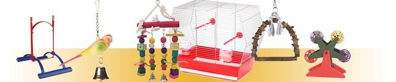 Akcesoria do klatki dla ptaków