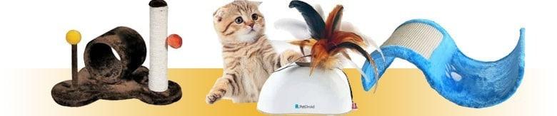 Zabawki dla kota i drapaki dla kota